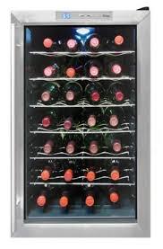 vinotemp wine fridge. Vinotemp 28-Bottle Thermoelectric Wine Cooler Fridge H