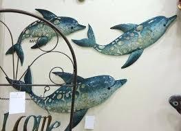 coastal outdoor metal wall art