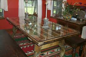 traditional glass table cover