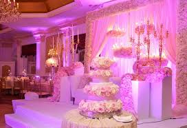 although not all of these photos were taken at de luxe banquet hall the décor depicted is well within the capabilities of our wedding coordinators and