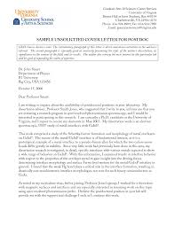 Cover Letter Example Unsolicited Application Adriangatton Com