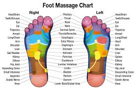 Free Downloadable Foot Massage Chart For Self Healing