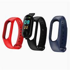 M3 Soft Watch Band Belt <b>Smart</b> Bracelet Strap Usb Charging ...