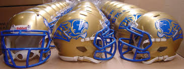 high school mini football helmets made