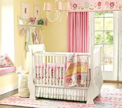 image of baby curtains for nursery girls