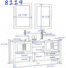 standard height for bathroom vanity standard height of wash basin for dimensions 2379 x 2457