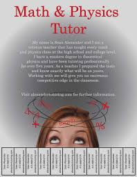Math Tutor Flyer - April.onthemarch.co