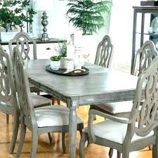 round distressed wood dining table kitchen and chairs home room rustic w