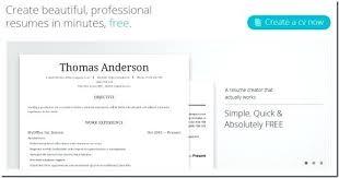 Free Online Resume Builder Interesting Online Free Resume Creator With Creator Online Free To Create