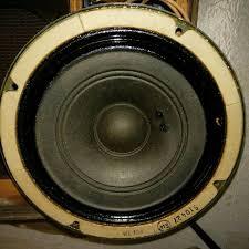 vintage wall speakers. western electric ks-14703 755a type 8 inch speaker in wall cabinet vintage wall speakers