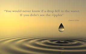 Zen Quotes Custom Zen Quotes You Would Never Know If A Drop Fell In The Water If