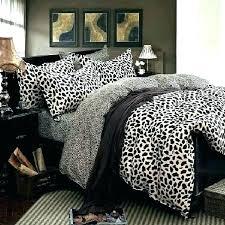 animal print duvet covers leopard cover uk