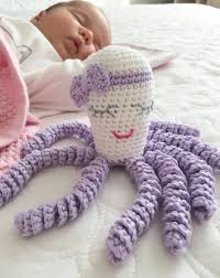 Crochet Octopus For Premature Babies Pattern Cool Crochet Octopus Toy For Preemies And Newborns For Good Luck And