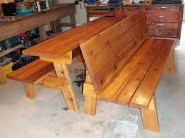 Atemberaubend Bench Table Combo Plans Outdoor G And Diy Dunelm