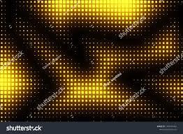 Broken Light Effect Light Pixels Abstract Glow Effect Glowing Stock Illustration