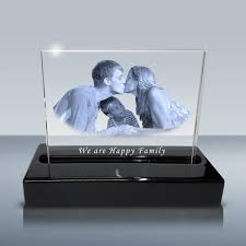 engraving picture crystal plaque 7x5 w light base design c wording suggestions