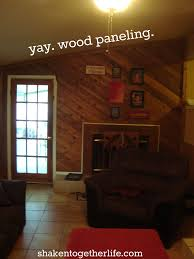 living room wall decals with how to paint wood paneling