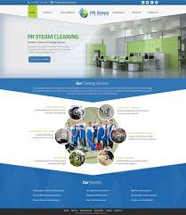 Carpet Cleaning Website Design Bold Modern Business Web Design For A Company By