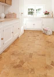 How To Tile A Kitchen Floor Flooring Fresh Cork Floors For Cozy Home Flooring Design