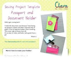 Passport Booklet Template Passport Booklet Template Space Writing Role Play Templates