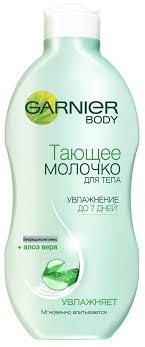 Garnier <b>Увлажняющее</b> тающее <b>молочко для тела</b> с Алоэ вера ...