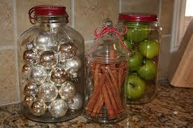 Kitchen Decorative Filled Jars Christmas Decorating Ideas That Add Festive Charm to Your Kitchen 8
