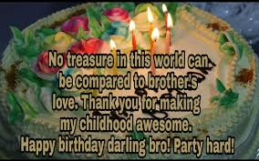Birthday Wishes And Messages For Brother Samplemessages Blog
