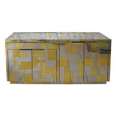 Paul Evans Cityscape Cabinet Bar at 1stdibs