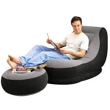 intex inflatable lounge chair. Intex Inflatable Chair And Ottoman Set Lounge