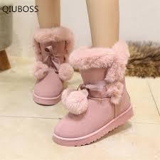 <b>QIUBOSS</b> 2018 Winter <b>New</b> Fashion Comfortable <b>Women</b> Snow ...
