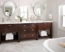 bathroom vanity design ideas. Example Of A Classic Bathroom Design In Denver With Marble Countertops And White Vanity Ideas O