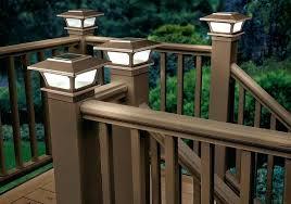 deck lighting ideas pictures. Exotic Solar Deck Lighting Outdoor Post Cap Lights Ideas Pictures