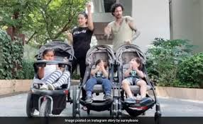 Now their children must live up to their legacy. Sunny Leone Daniel Weber Dance To Justin Timberlake For Their Kids
