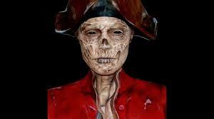 john han fallout 4 ghoul makeup facepaint