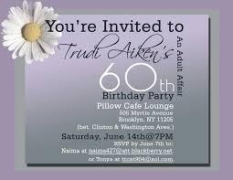60 birthday invitations 60th birthday card invitation wording alanarasbach com