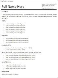 Resume Examples Templates  Top    Free Creative Resume Templates