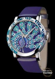 Pin by Kellie Sims on Watches you have to see... | Peacock watch, Peacock  jewelry, Beautiful watches