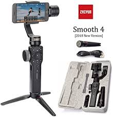 <b>Zhiyun Smooth 4</b> 3 Axis Gimbal Steadicam Stabilizer For Samsung ...
