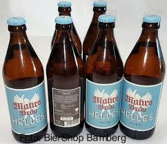 6 Flaschen Mahrs Bräu Helles