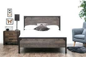 Rustic Metal Bed Frames Cast Iron Queen Bed Frame Rustic Metal ...