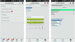 Agenda List Mobilemeeting User Interface From Left To Right Agenda