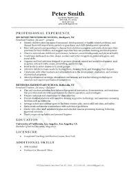Pre K Teacher Resume Sample Best Of Daycare Resume Examples Cvfreepro