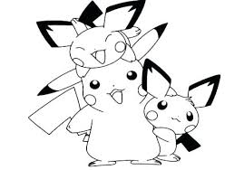 Pokemon Ash And Pikachu Coloring Pages With Free Is Lose To Page