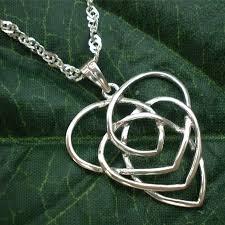 celtic motherhood knot intertwine jewelry necklace by yhtanaff 49 00 mother mothergift motherhood knot