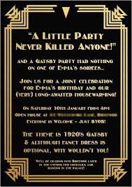 Great Gatsby Invitation Template Great Gatsby Invitation Template You Get Ideas From This Site