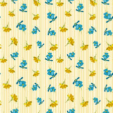 cute flower pattern wallpaper. Perfect Wallpaper Seamless Cute Floral Pattern Blue And Yellow Flowers Wallpaper Vector  Background Illustration Stock Throughout Cute Flower Pattern Wallpaper S