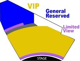 Hollywood Theater Las Vegas Seating Chart Vegas The Show V Theater Box Office