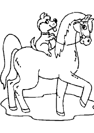 Animaux Coloriage Grand Galop Coloriage Grand Galop A Imprimer