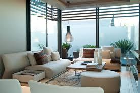 Interior:Tropical Interior Design With Small Indoor Garden Feats Attractive  Floor Pattern Modern Tropical Home