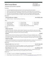 Industrial Engineer Resume Fresh Systems Engineering Resume Top Classy System Engineer Resume